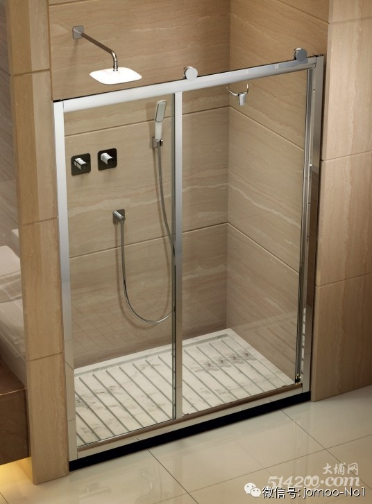 玻璃隔断或者玻璃推拉门安装,彻底阻断水蒸气外溢,还您的卫生